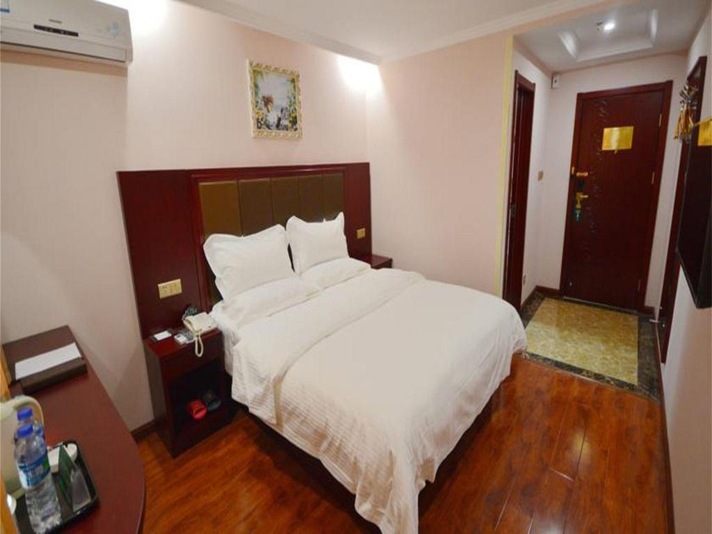 King - Guestroom GreenTree Inn Bengbu Huaishang District Government Express Hotel