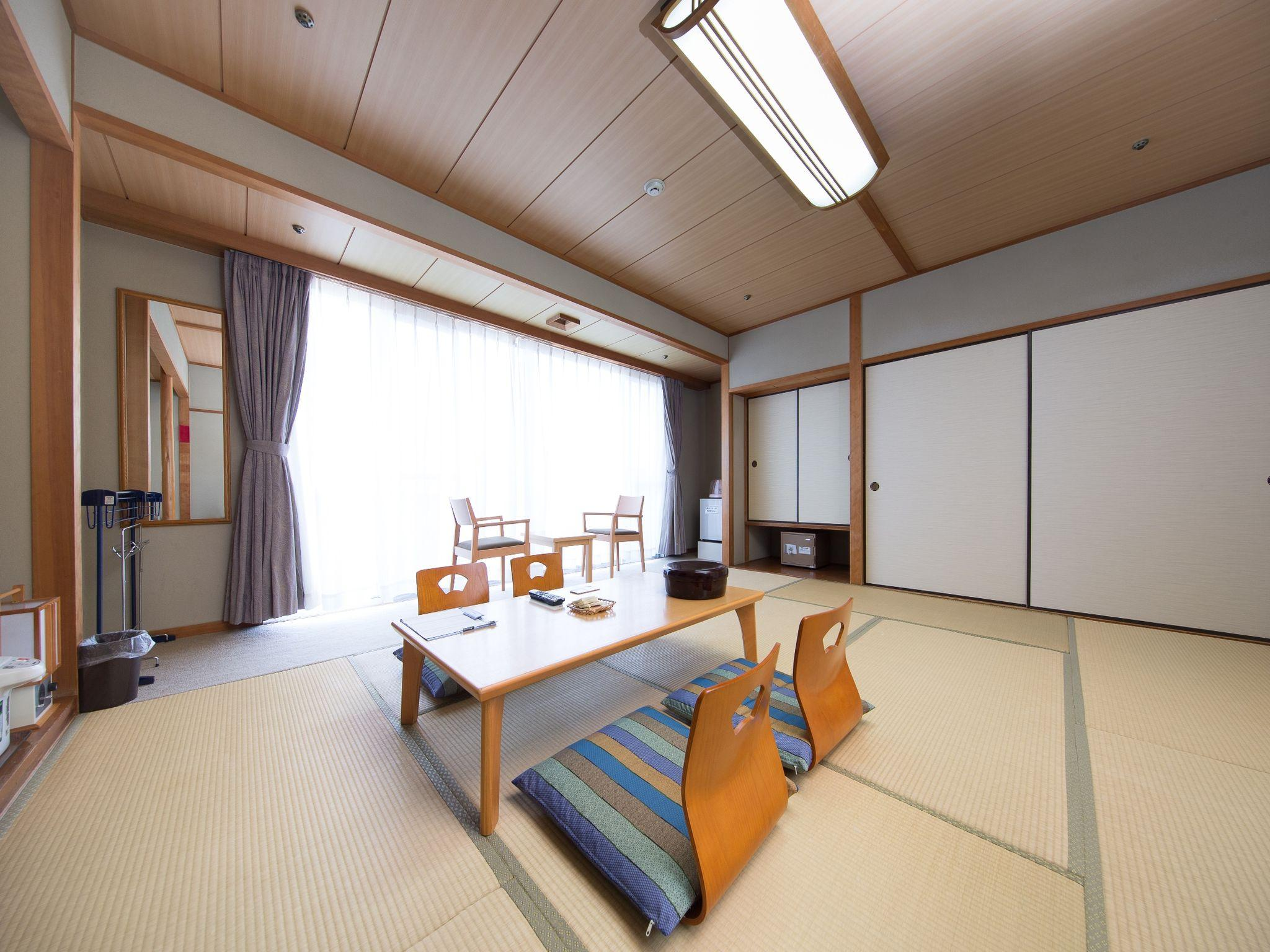 Japanese Style Room with 10 Tatami for 4 People - Non-Smoking
