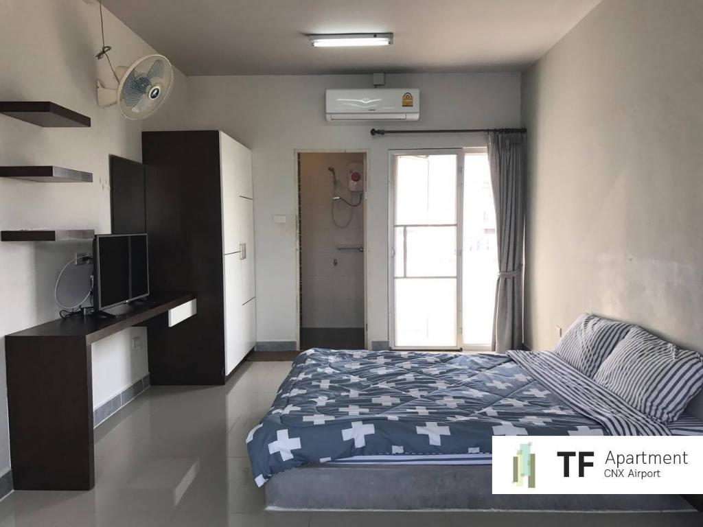 Standard Air Condintioning - Guestroom Ton Fun Apartment