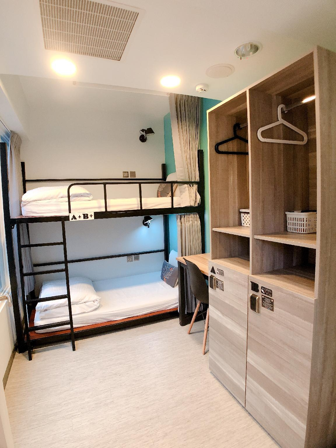 Bunk Bed Room (Shared Bathroom)