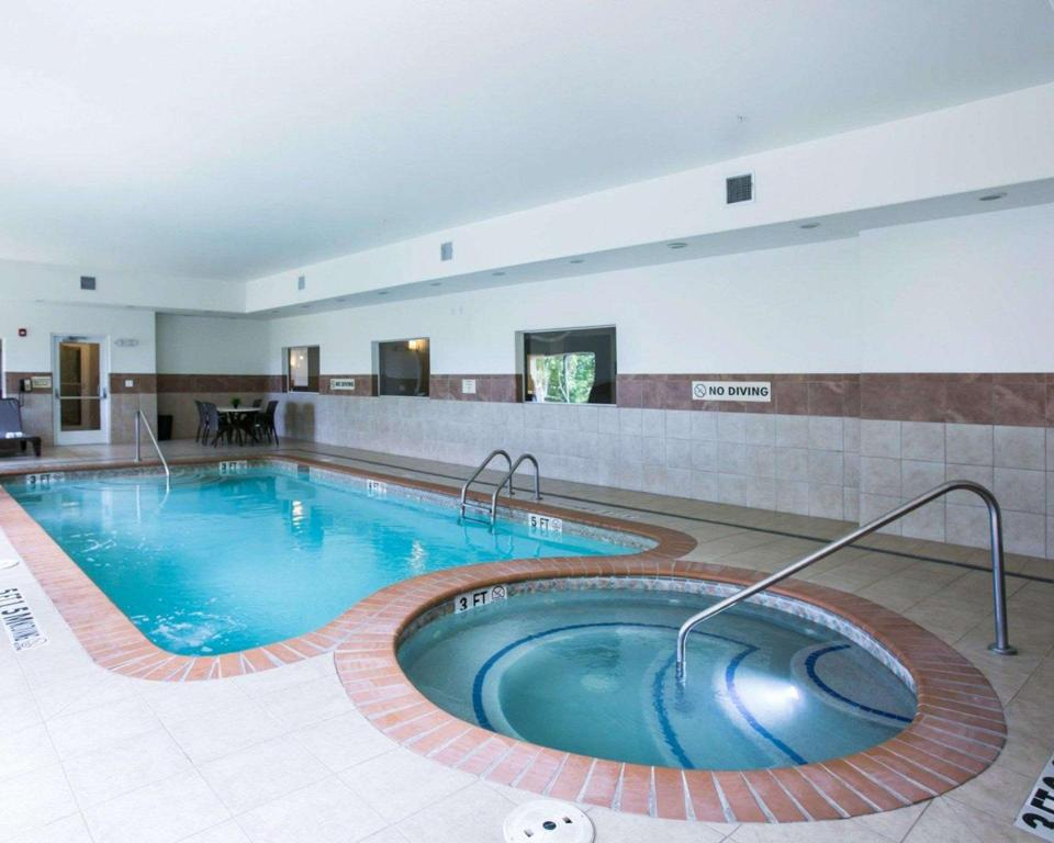Swimming pool Sleep Inn and Suites Round Rock - Austin North