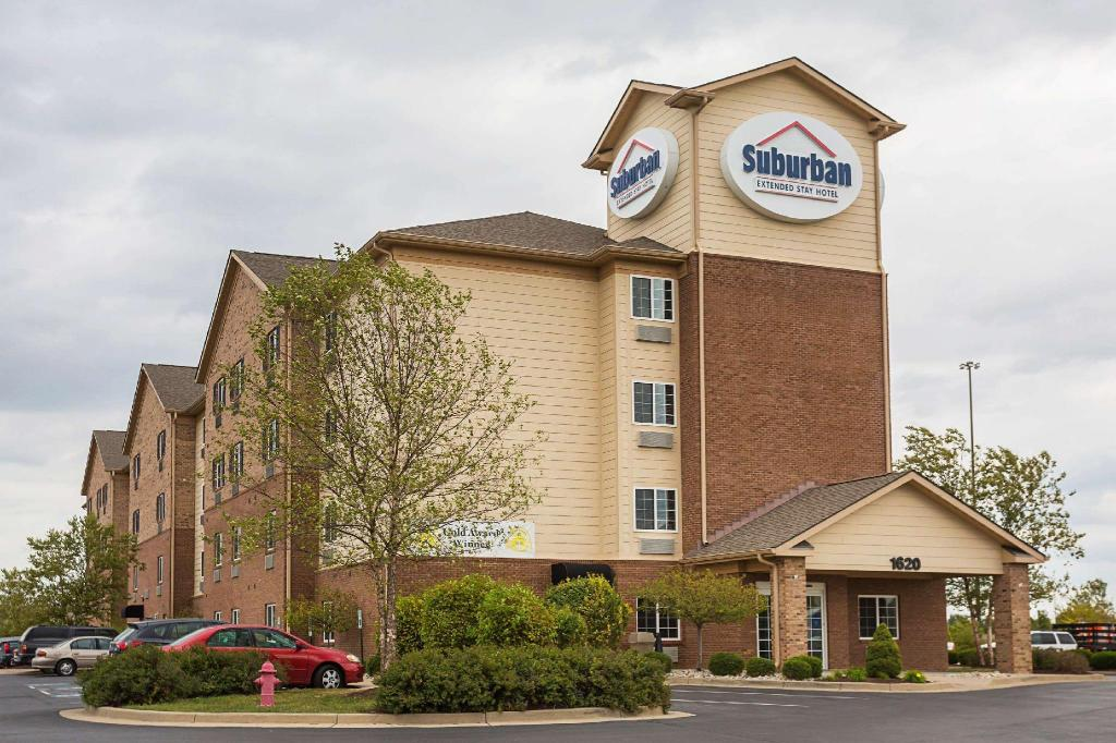 Suburban Extended Stay Hotel Louisville North in Clarksville (IN) - Room Deals, Photos & Reviews