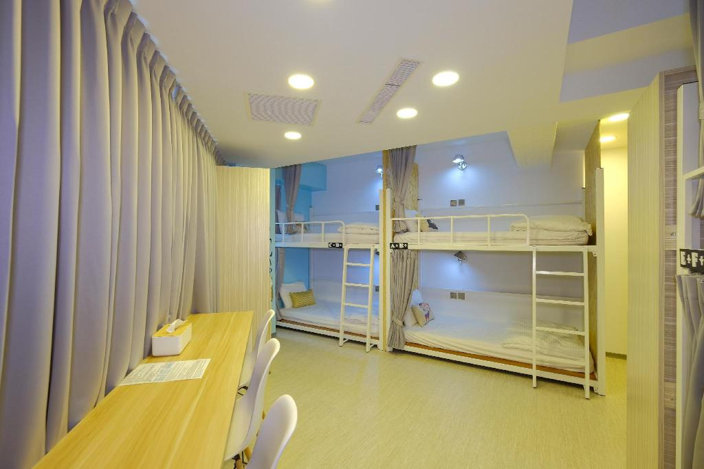 1 Person in 6-Bed Dormitory - Female Only - Room plan