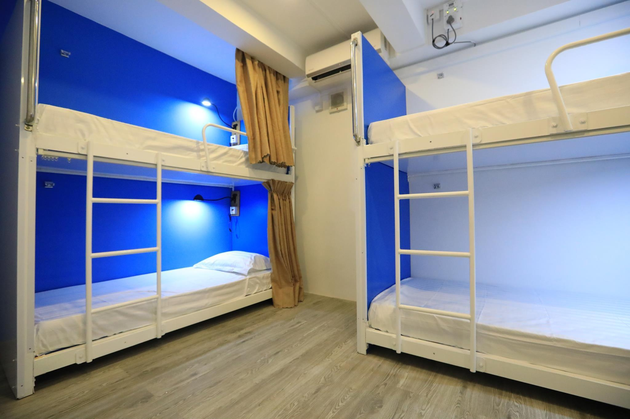 Mixed Dormitory 10-Bed with Air Conditioning
