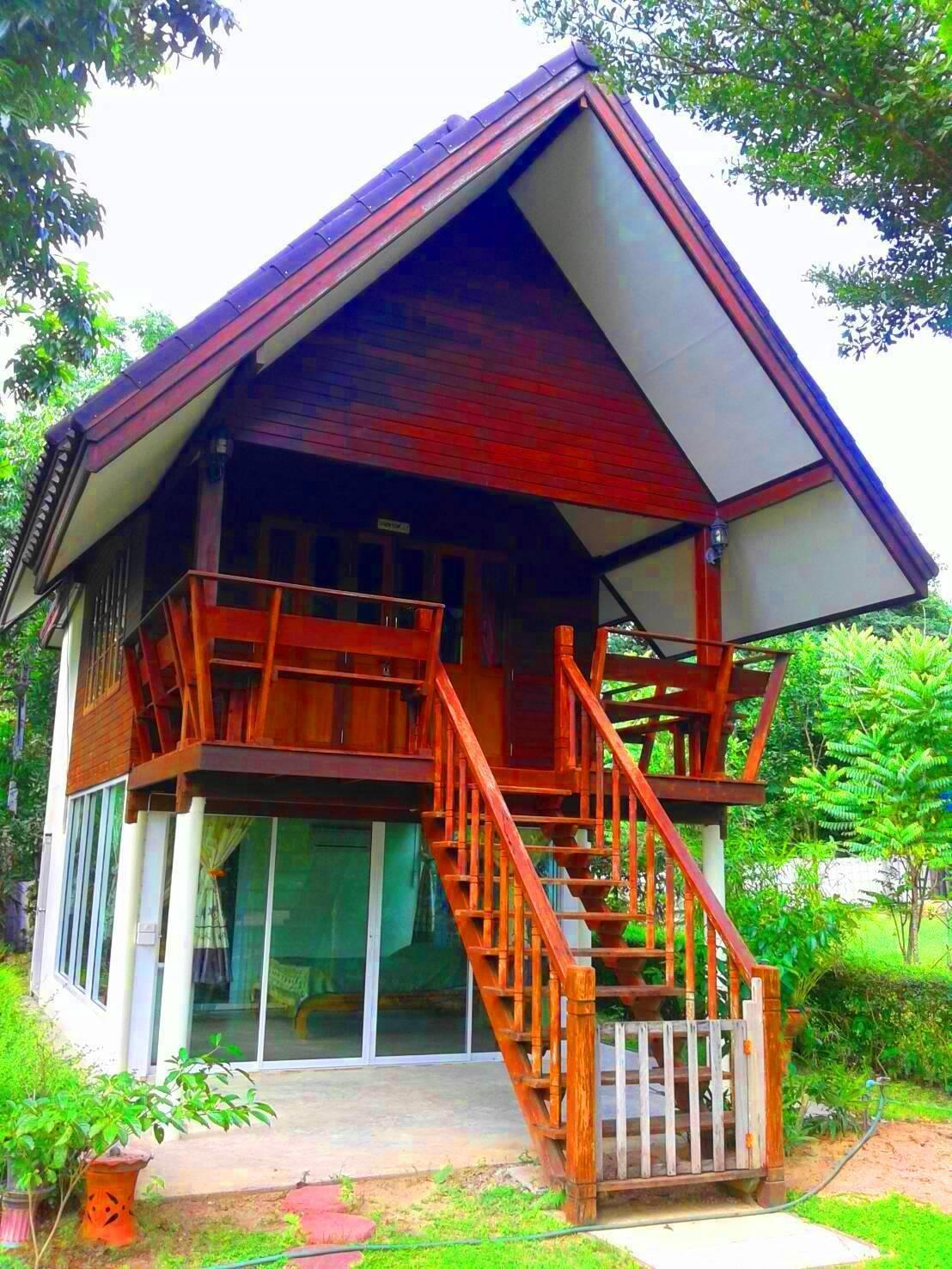 ガーデンバンガローダブル   ヴィラ/バンガロー アット ホーム スアンプン (At Home Suanphung)