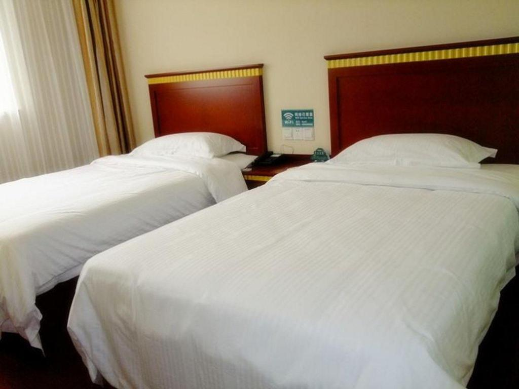 Business - Pokoj typu Standard - Postel GreenTree Inn Ningbo Passenger Transport Center Tongda Road Shell Hotel