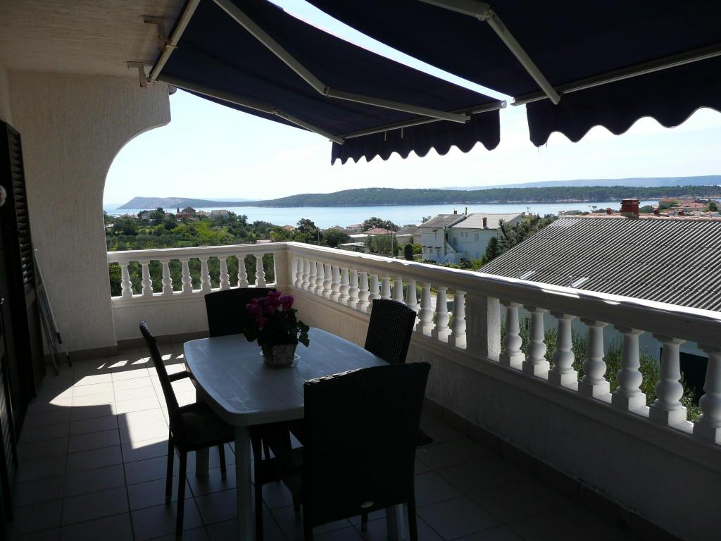 Beautiful view two bedroom apartment in Banjol