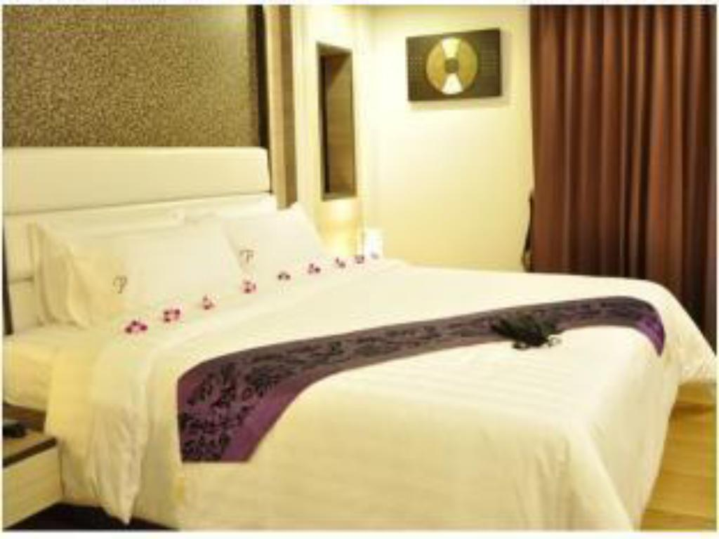 Deluxe Suite Double Bed iCheck inn Residences Sukhumvit 20