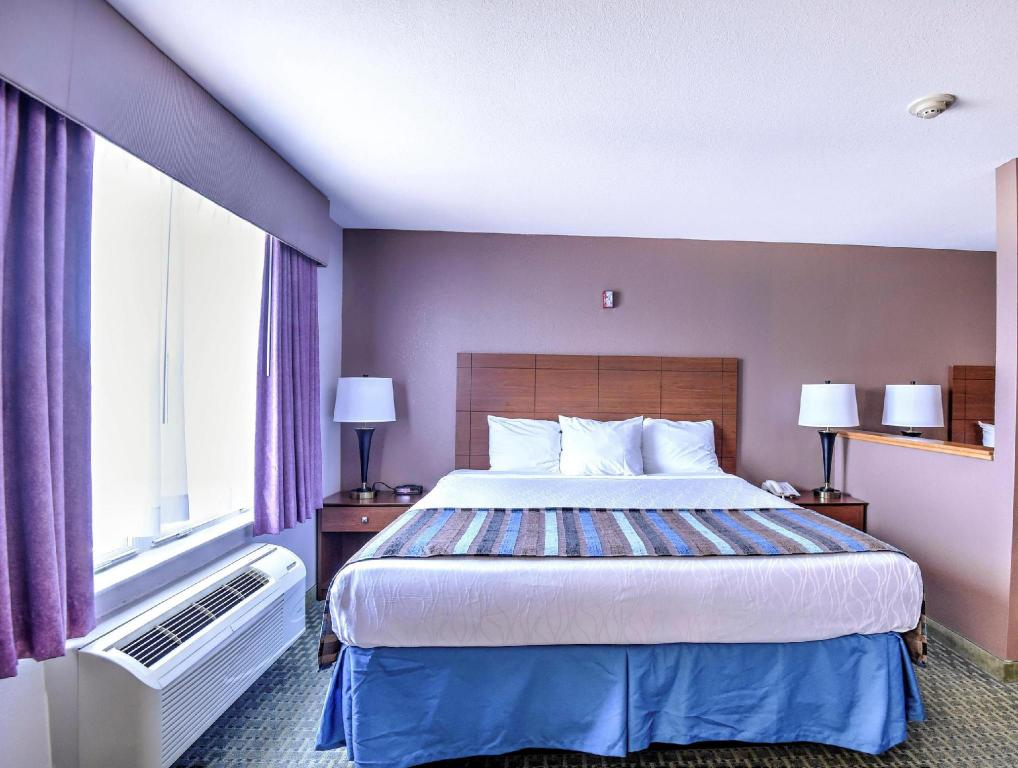 1 King and 1 Queen Bed - No Smoking - Bed Best Western Ottawa Inn