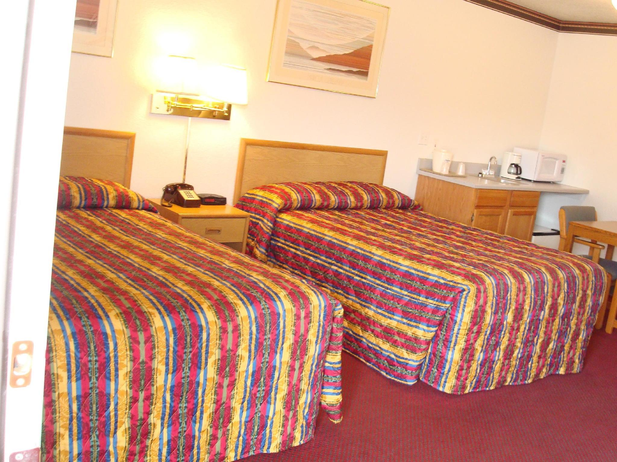 2 camas dobles (2 Double Beds)