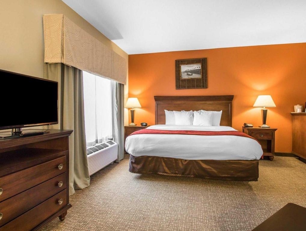 1 Bedroom King Suite Comfort Suites Pelham Hoover I-65