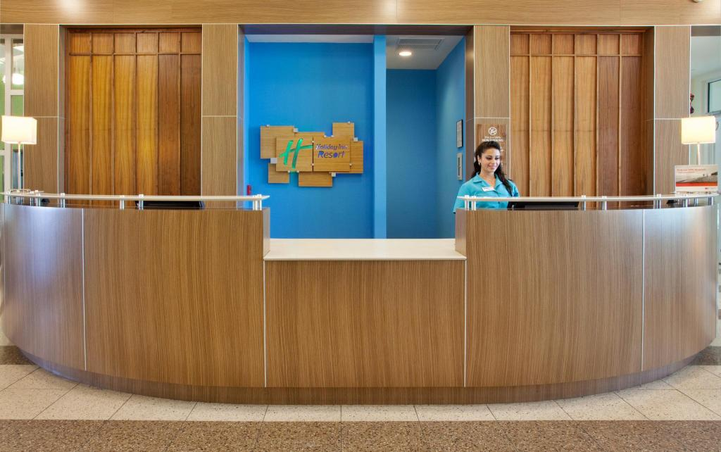 Lobby Holiday Inn Resort Pensacola Beach Gulf Front