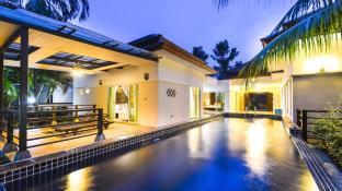 Les Palm Waterfall Pool Villa