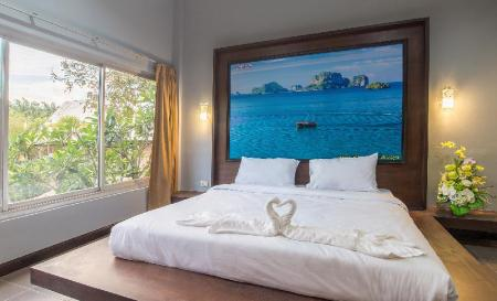 Superior Double or Twin Room with Garden View - Interior view Krabi Home Town Boutique