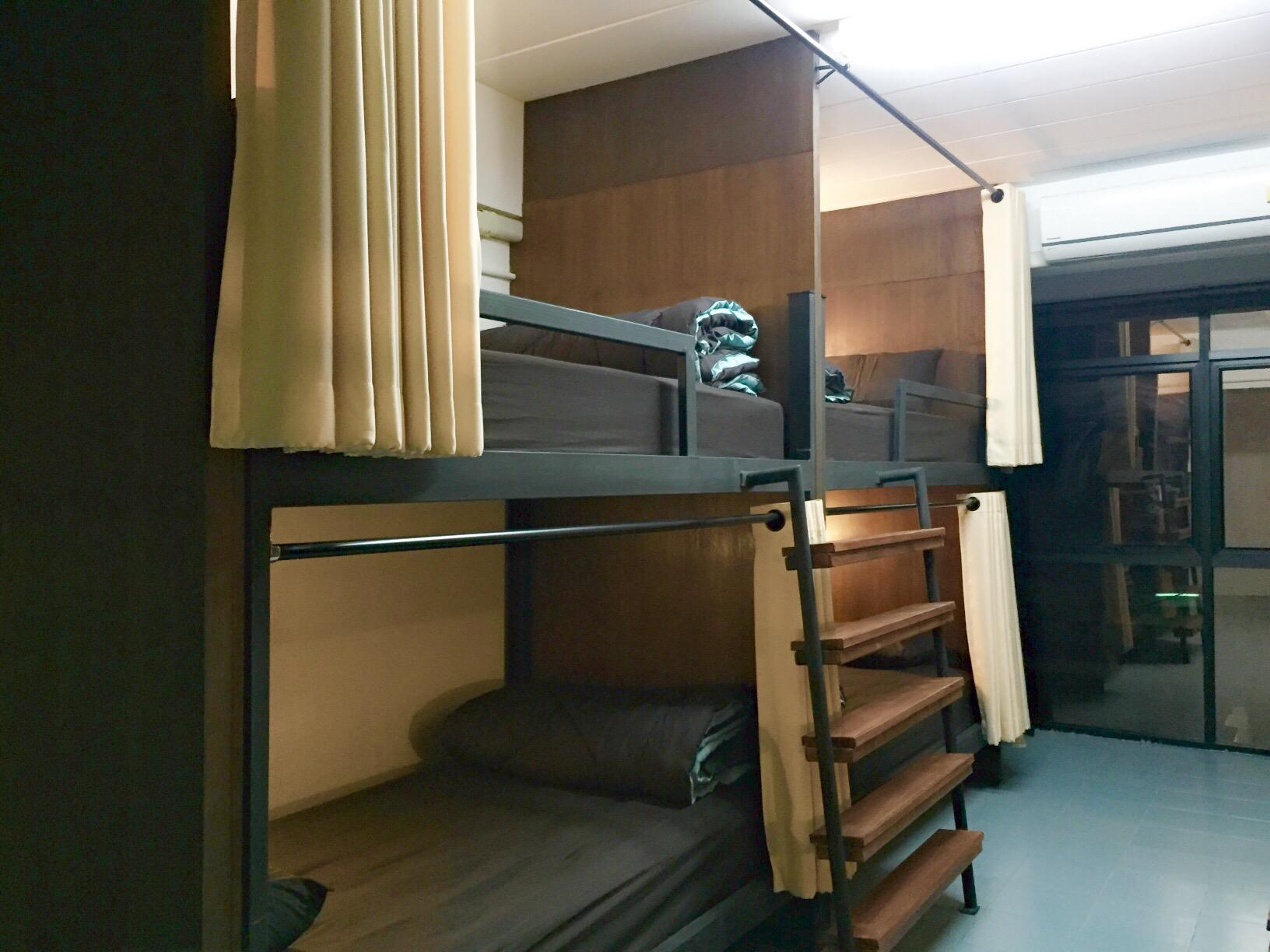 1 Personne en Dortoir 9 Lits - Mixte (1 Person in 9-Bed Dormitory - Mixed)