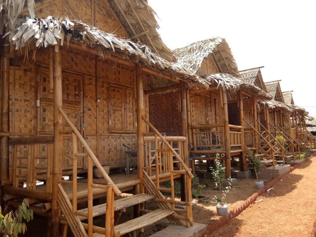 Bamboo Hut With Loft
