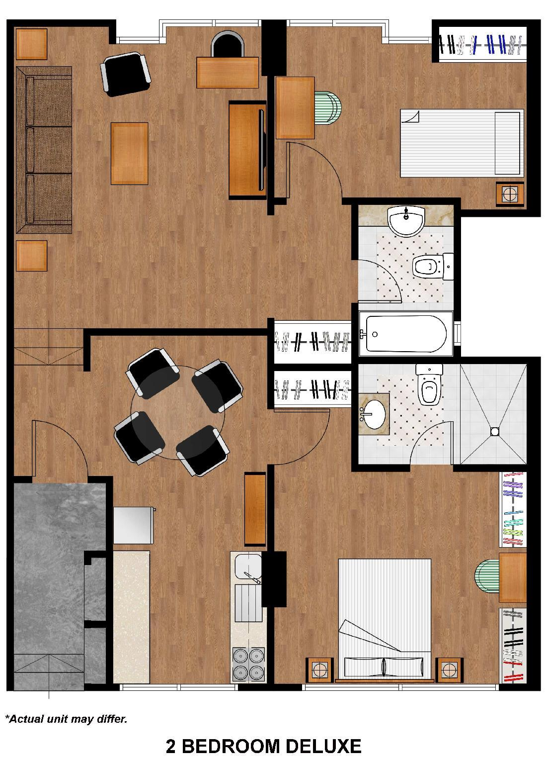 2 Bedroom Deluxe Apartment