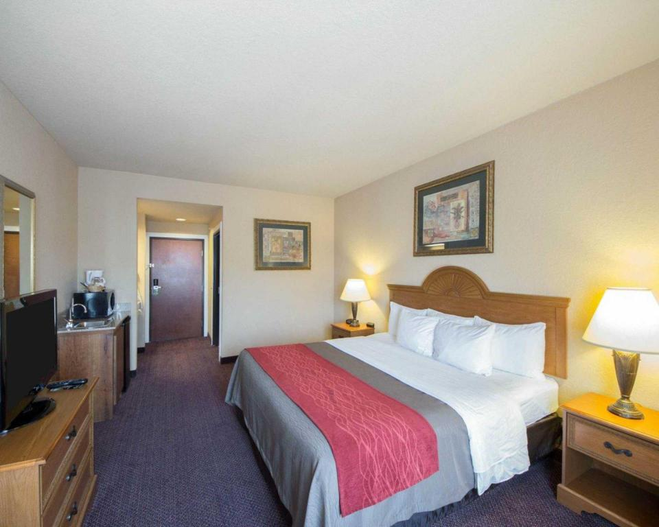 King Room - Non-Smoking - Guestroom Comfort Inn and Suites Fredericksburg