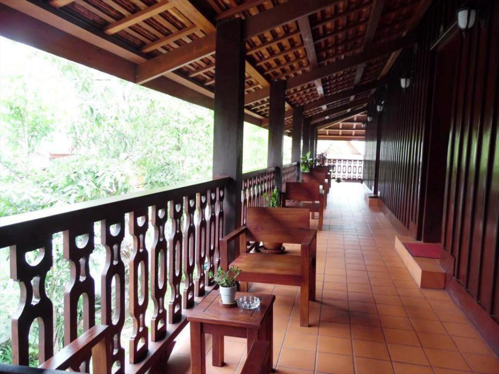 Balcony/terrace Luang Prabang Residence (The Boutique Villa)