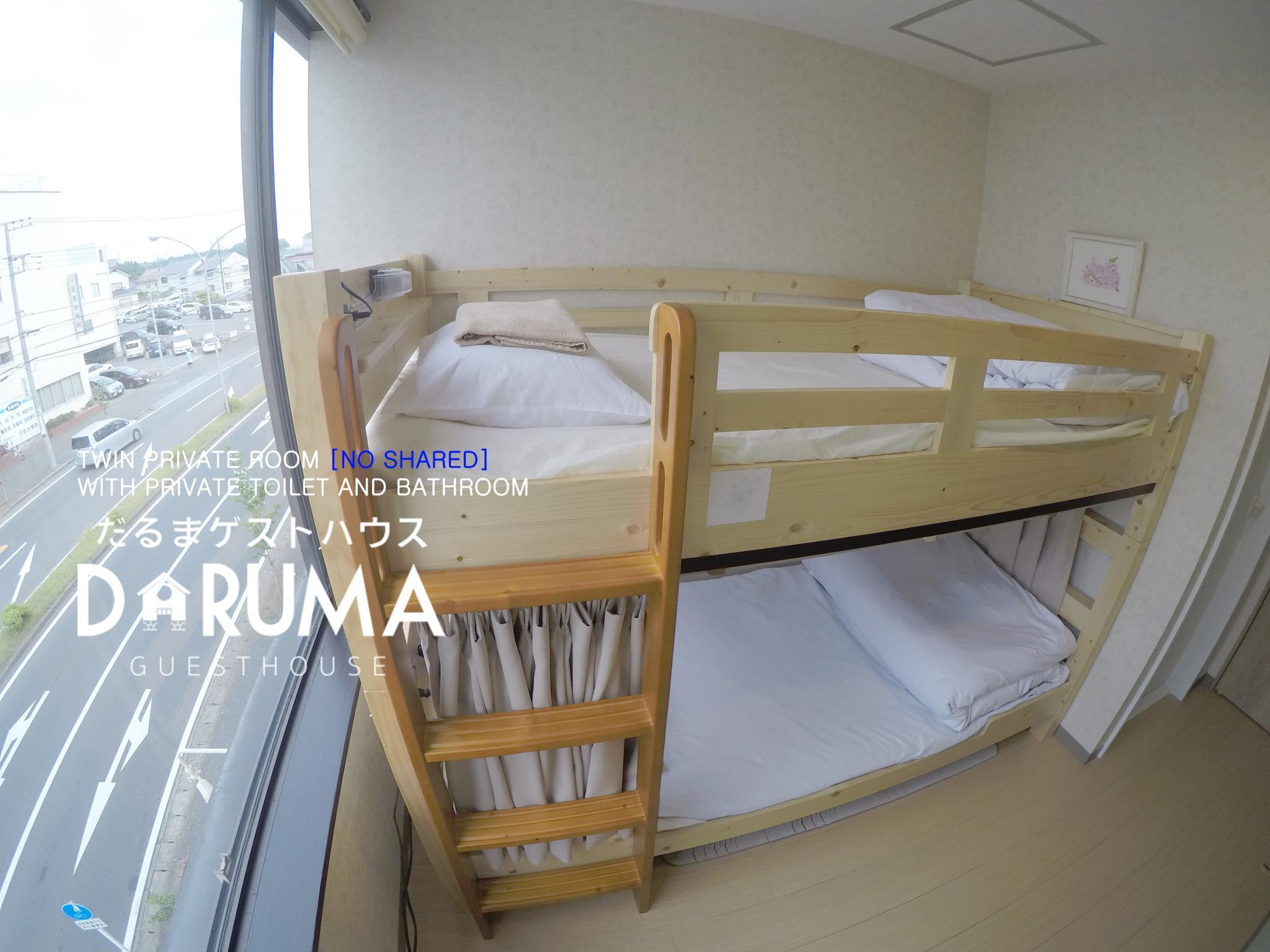 Twin Room with Private Bathroom - Non-Smoking