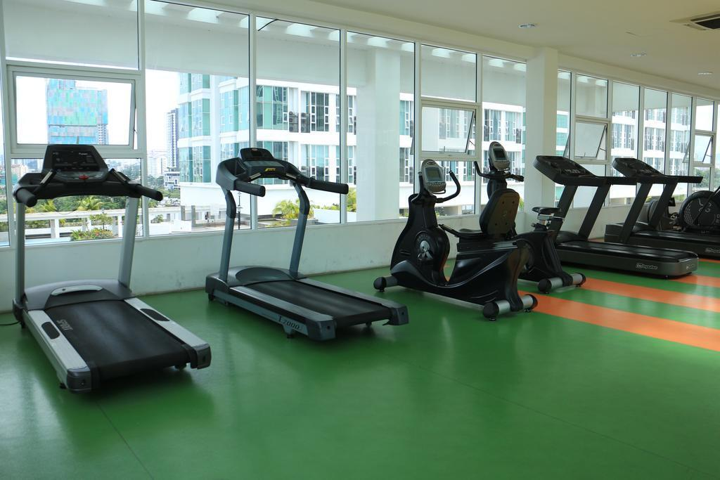 Fitness center Duplex Suite @ The Scott Garden