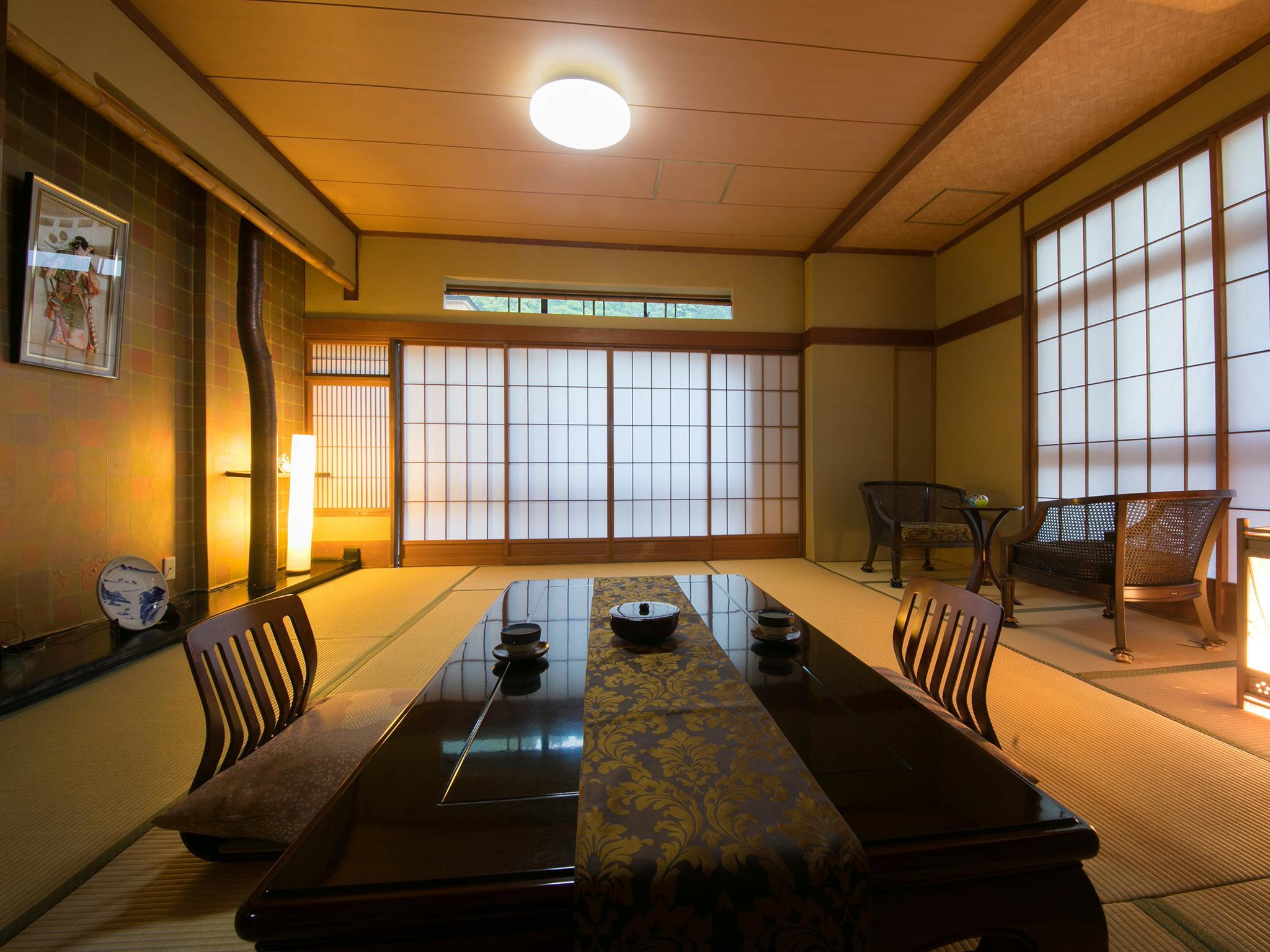 Japanese Style Room with 12 Tatami