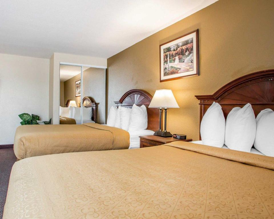 2 Queen Beds - Bed Quality Inn and Suites Middletown - Franklin