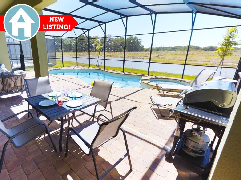 ACO Premium - 8 Bd with private pool and Grill(1714)