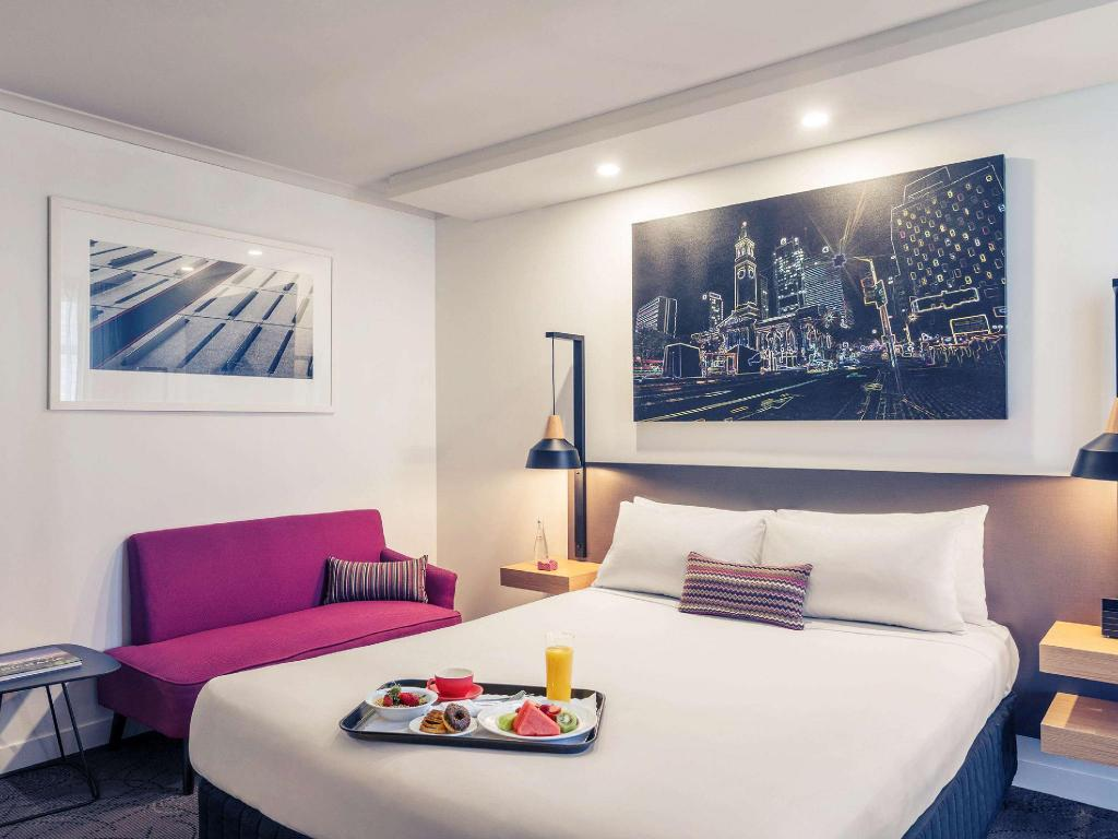 High level modern and spacious privilege room, overlooking Brisbane - 客室 Mercure Brisbane King George Square