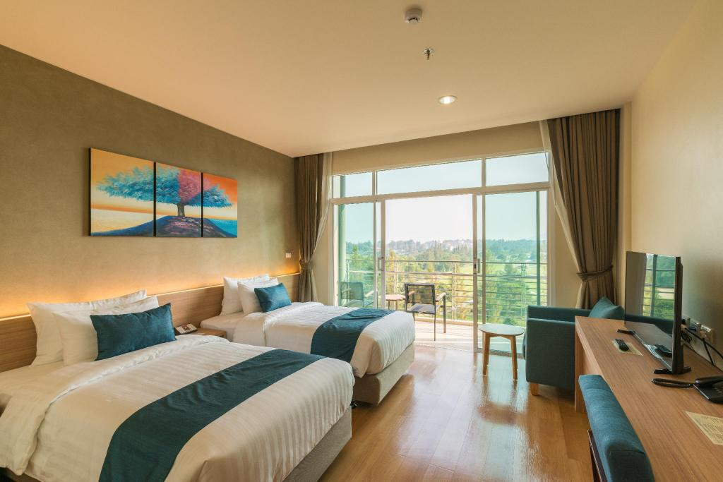 Executive View - Room plan Wora Wana Hua Hin Hotel & Convention