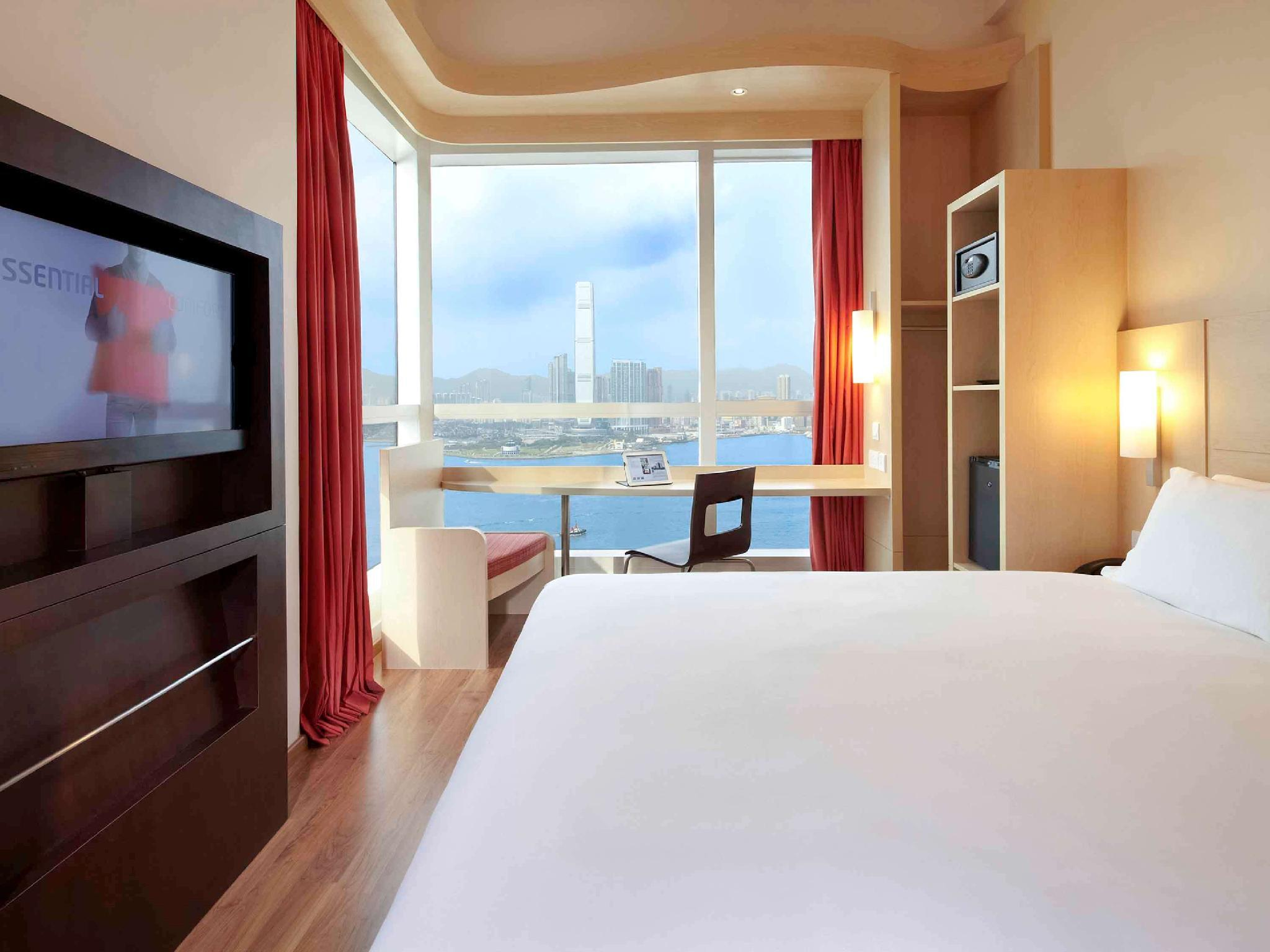 港景房(大床) (1 Queen Bed Harbor View)
