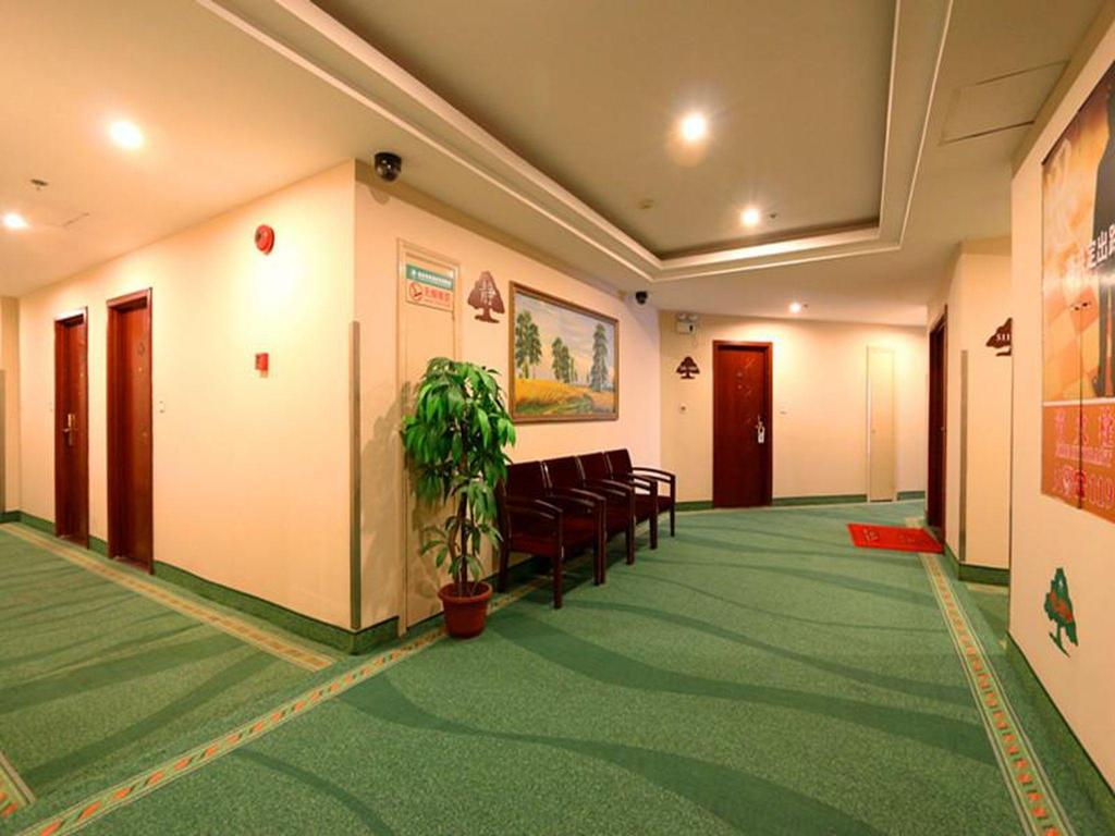 Vista Interior GreenTree Inn Shanghai Guangxin Road Tongji Hospital Express Hotel