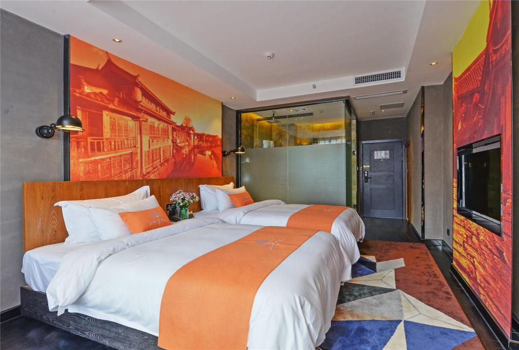 Cozy Twin Room - Bed Lijiang U Hotel
