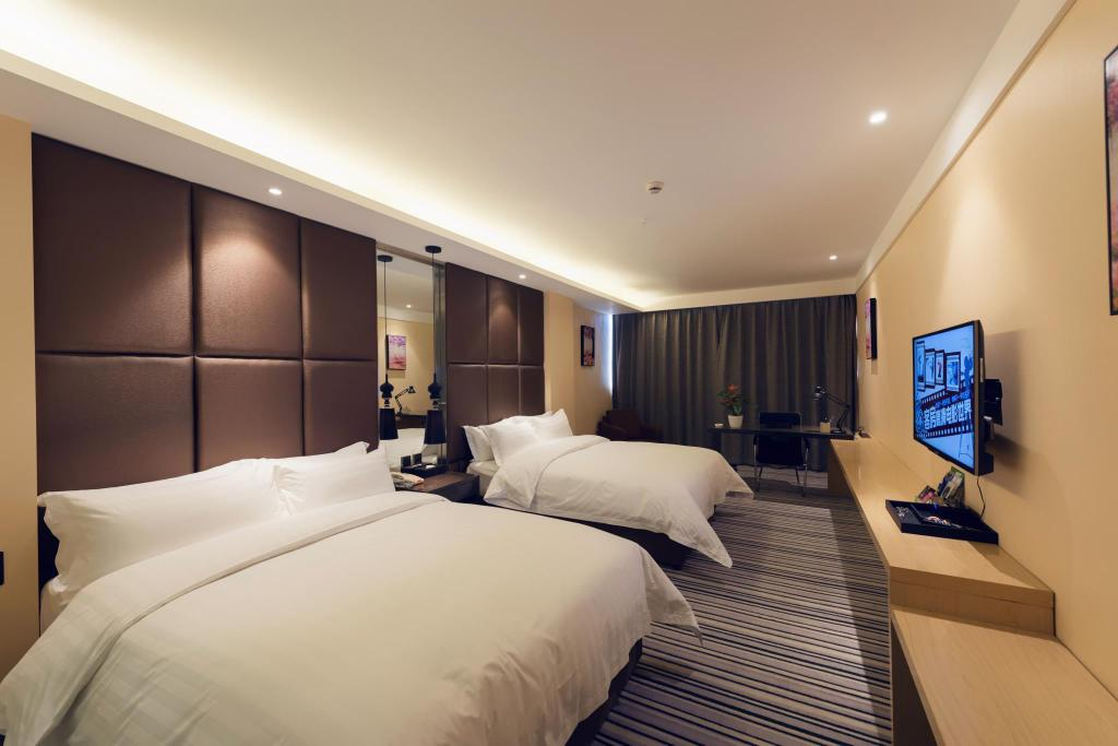 Deluxe Twin - 2 Single Beds - Guestroom jingruigolden harbor hotel
