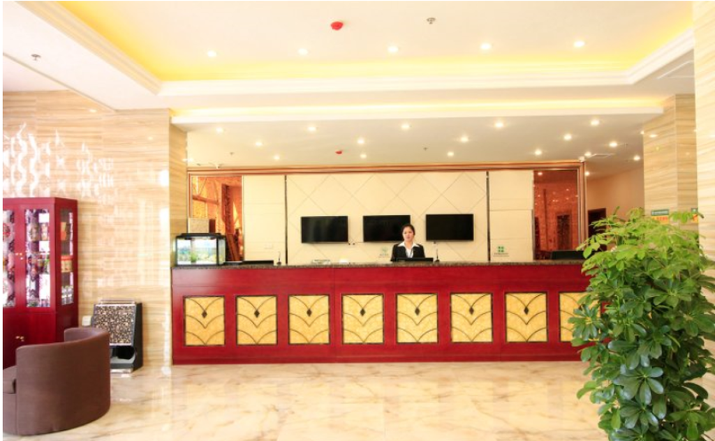 Reception GreenTree Inn RiZhao JuXian YinXing Avenue Middle Road Business Hotel