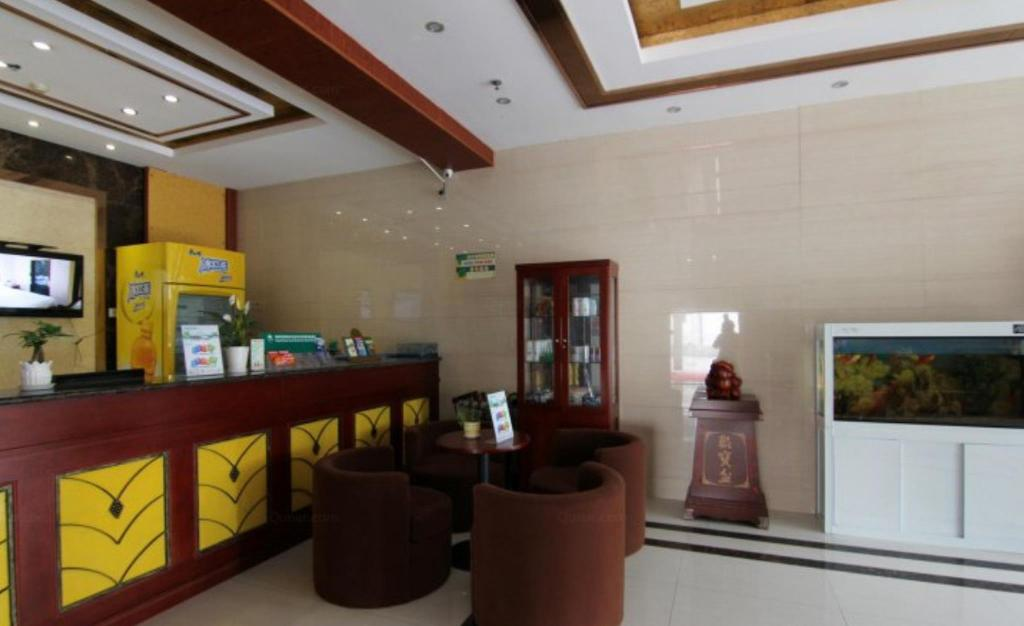 Lobby GreenTree Inn Yangzhou Baoying  South Anyi Road Express Hotel