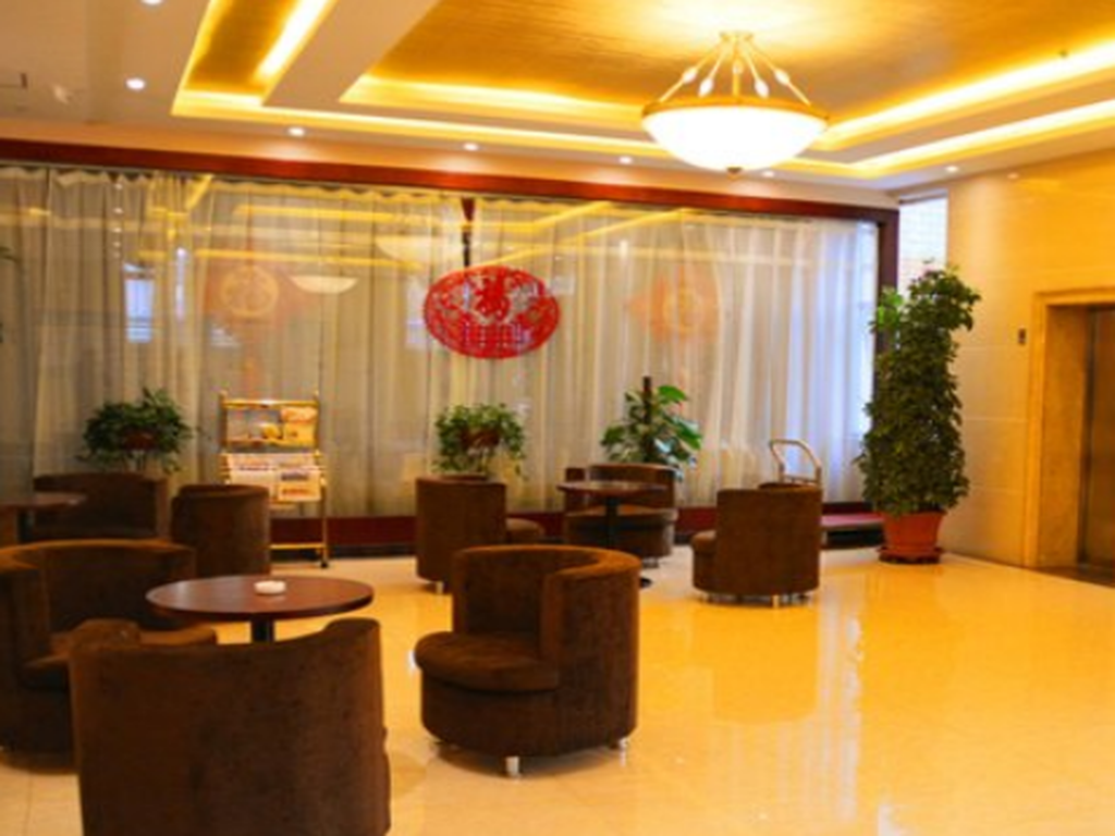 Lobby GreenTree Inn ChangZhi Bus Passenger Station XiHuan Road Business Hotel