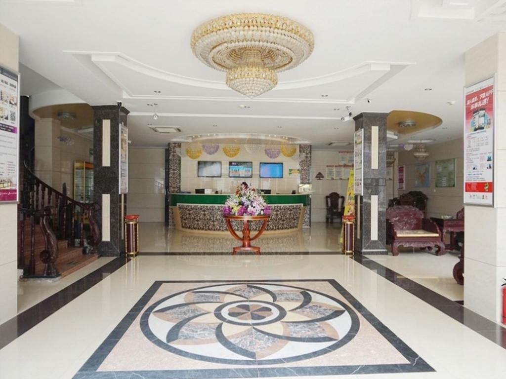 Αίθουσα υποδοχής GreenTree Inn Bozhou Mengcheng County Zhouyuan (W) Road County Government Hotel