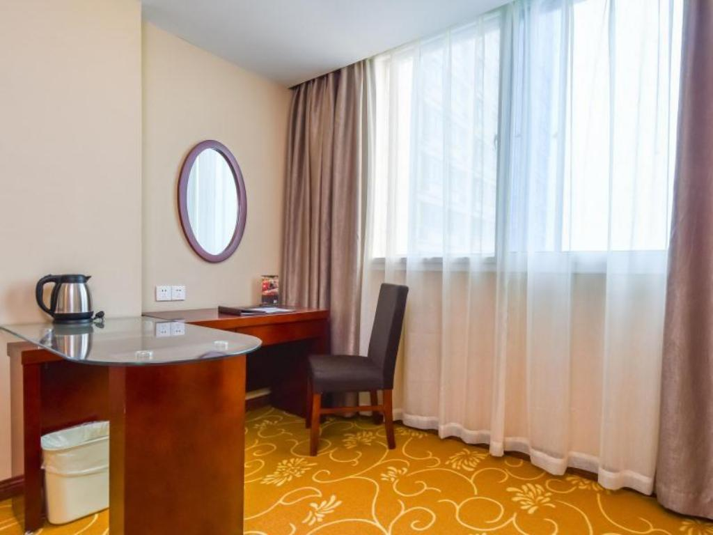 Vista Interior GreenTree Inn Xuzhou Jianguodong Road Xuanwu Maket Business Hotel