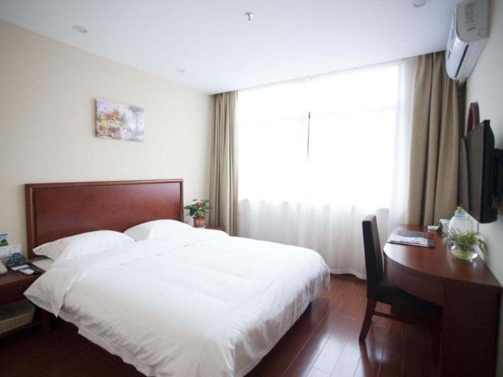 King Room - Guestroom GreenTree Inn Jiangsu Zhenjiang Dashikou