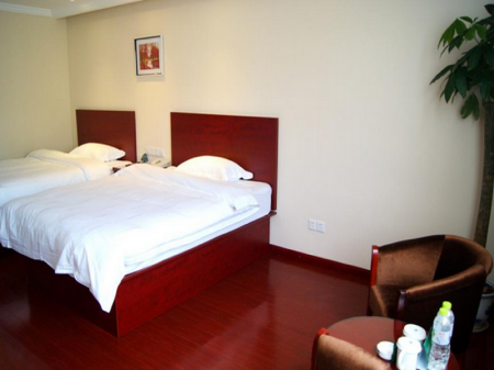 Интериор на хотела GreenTree Inn HanDan DaMing Tianxiong Road Yuancheng Road Express Hotel