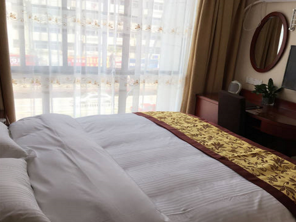 Cama King - Cama GreenTree Inn Maanshan Hunan West Road Gold Eagle Express Hotel