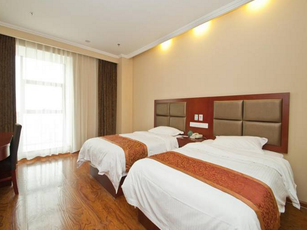 Standaard - Bed GreenTree Inn LinYi Lanling County Government Business Hotel