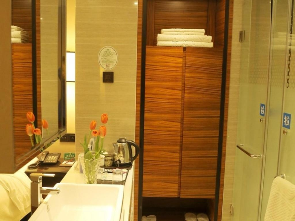 Bathroom GreenTree Alliance HeFei MengCheng (N) Road JiQiao Road Hotel