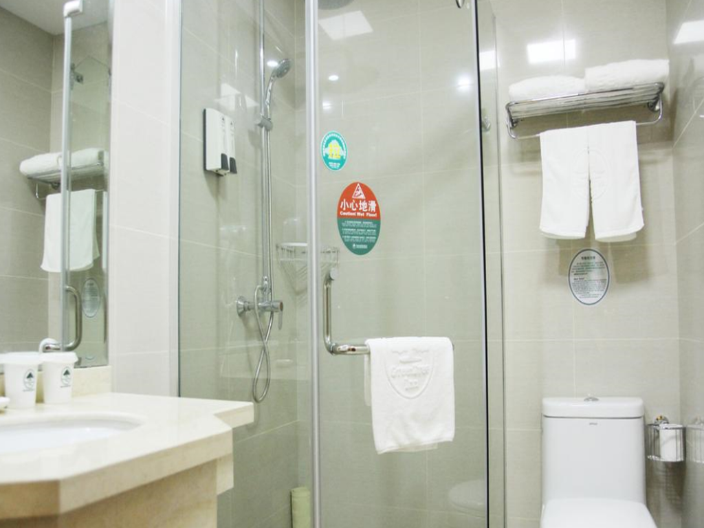 Bathroom GreenTree Inn Taiyuan Zoo Park (N) Wohushan Road Express Hotel