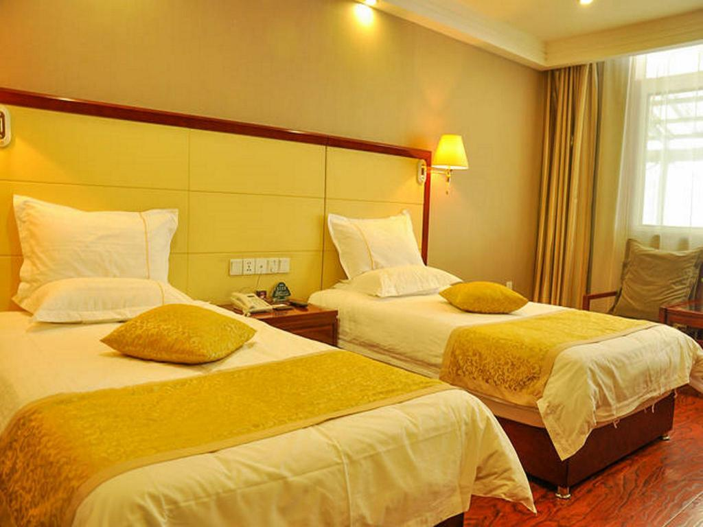 Deluxe Standaard - Bed GreenTree Inn Taiyuan Pingyang Road Business Hotel