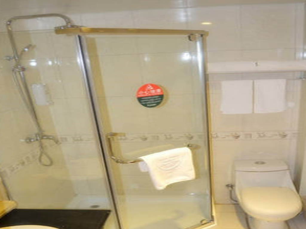 Bathroom GreenTree Inn Zaozhuang Tengzhou Railway Station Middle Fuqian Road Shell Hotel