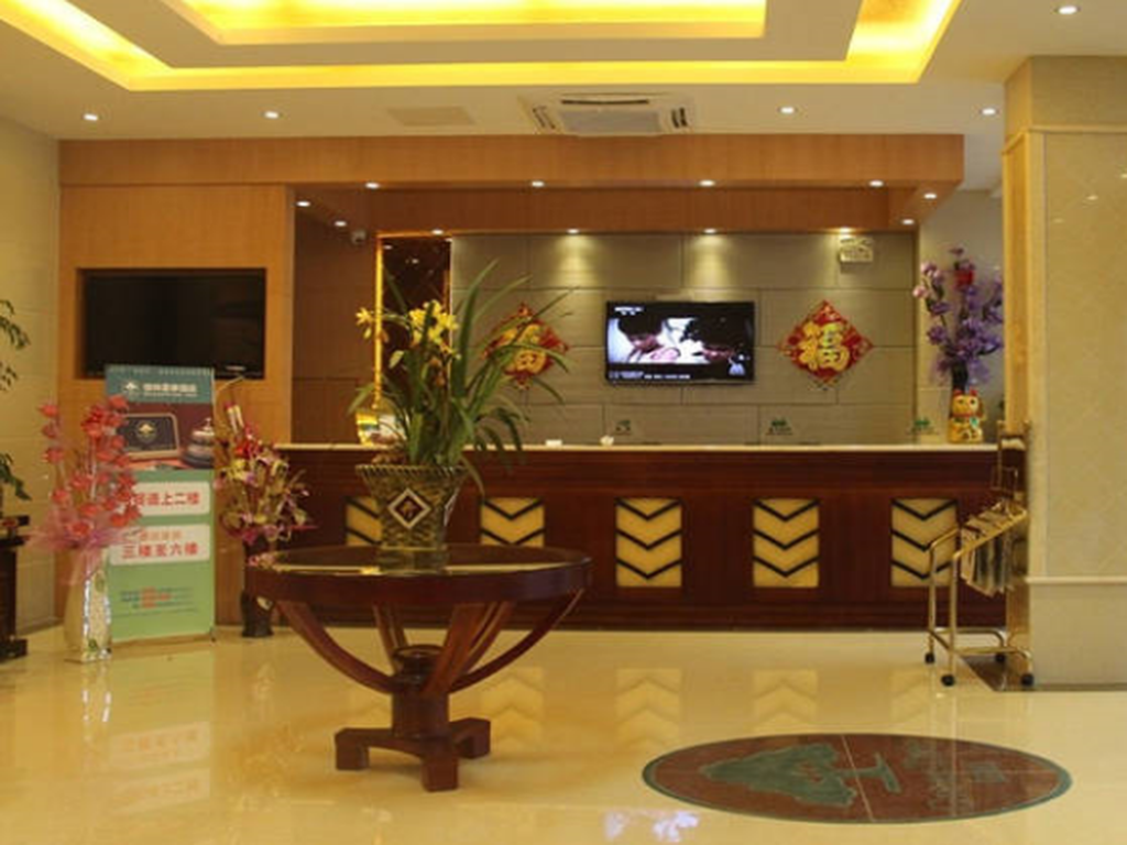 GreenTree Inn Yangzhou Gaoyou Chengnan New District Hongtaiyang Logistic Park Business Hotel