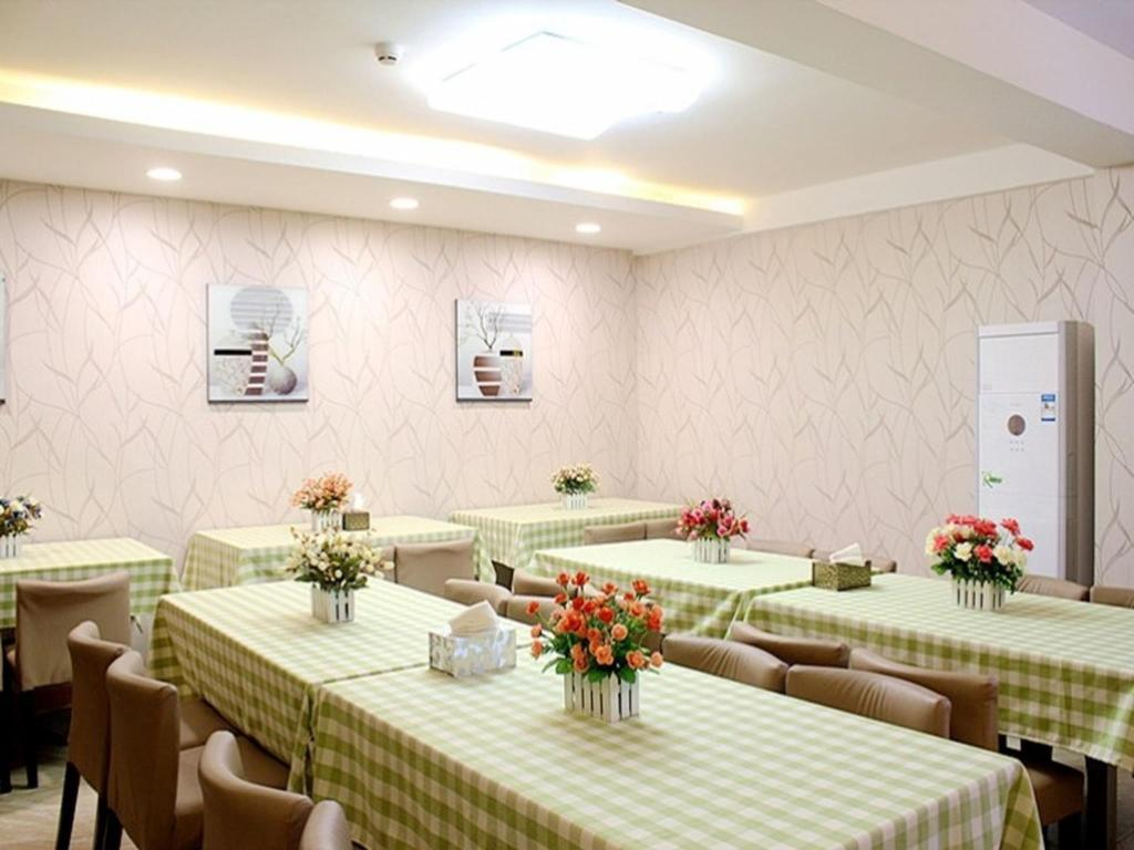 Εστιατόριο GreenTree Alliance Lianyungang Nanchang Road Hotel