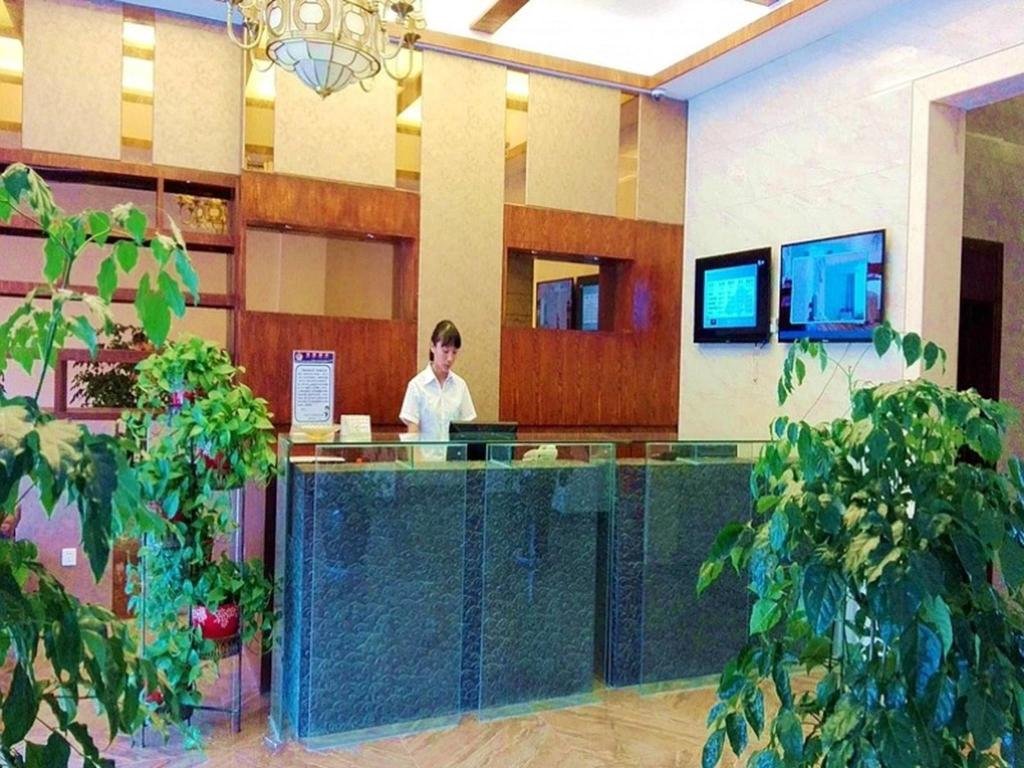 Υποδοχή GreenTree Alliance Lianyungang Nanchang Road Hotel